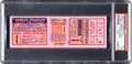 Baseball Collectibles:Tickets, 1926 World Series Game One Full Ticket - Lou Gehrig's First WorldSeries Game & Hit - Highest Graded. ...