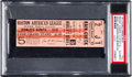 Baseball Collectibles:Tickets, 1912 World Series Game Five Full Ticket. ...