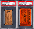 Baseball Collectibles:Tickets, 1913 World Series Game Two & Five Ticket Stubs Lot of 2. ...