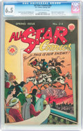 Golden Age (1938-1955):Superhero, All Star Comics #24 (DC, 1945) CGC FN+ 6.5 Off-white to white pages....
