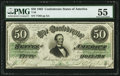 Confederate Notes:1862 Issues, T50 $50 1862.. ...