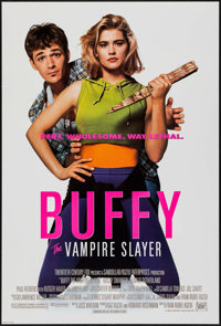 "Buffy the Vampire Slayer (20th Century Fox, 1992). One Sheets (2) (27"" X 40""). Advance and Regular DS. Horror..."
