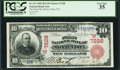 National Bank Notes:Colorado, Monte Vista, CO - $10 1902 Red Seal Fr. 613 The First NB Ch. #(W)7228. ...