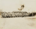 Baseball Collectibles:Photos, Circa 1917 New York Yankees Marching Original News Photograph,PSA/DNA Type 1. ...