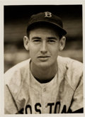 Baseball Collectibles:Photos, 1939 Ted Williams Original News Photograph, PSA/DNA Type 1....