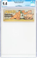 Golden Age (1938-1955):Cartoon Character, Wheaties Premiums #B2 (Walt Disney Productions, 1950) CGC NM 9.4Off-white to white pages....