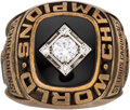 Baseball Collectibles:Others, 1967 St. Louis Cardinals World Series Championship Salesman's Sample Ring. ...