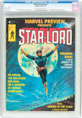 Magazines:Science-Fiction, Marvel Preview #4 Star-Lord (Marvel, 1976) CGC FN+ 6.5 Cream tooff-white pages....