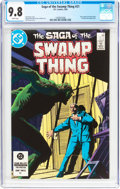 Modern Age (1980-Present):Superhero, Saga of the Swamp Thing #21 (DC, 1984) CGC NM/MT 9.8 Whitepages....