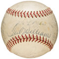 Autographs:Baseballs, 1957 Boston Red Sox Team Signed Baseball (25 Signatures). ...