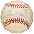 Autographs:Baseballs, 1971 Boston Red Sox Team Signed Baseball (25 Signatures). ...