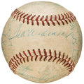 Autographs:Baseballs, 1960 Boston Red Sox Team Signed Baseball (27 Signatures). ...