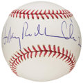 Autographs:Baseballs, Hillary Clinton Single Signed Baseball. ...