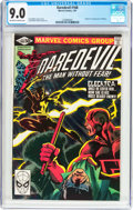 Modern Age (1980-Present):Superhero, Daredevil #168 (Marvel, 1981) CGC VF/NM 9.0 Off-white to whitepages....