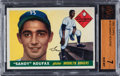 Baseball Cards:Singles (1950-1959), 1955 Topps Sandy Koufax #123 BVG NM 7....
