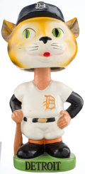 Baseball Collectibles:Others, 1963-66 Detroit Tigers Green Base Nodder. ...