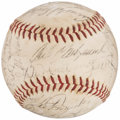 Autographs:Baseballs, 1963 Boston Red Sox Team Signed Baseball. ...