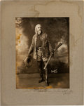 "Photography:Studio Portraits, William F. ""Buffalo Bill"" Cody: An Important Large-formatAutographed Photo Inscribed to the Husband of his Favorite Niece,Ju..."
