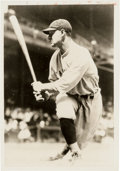 Baseball Collectibles:Photos, Late 1920's Lou Gehrig Original News Photograph, PSA/DNA Type 1....