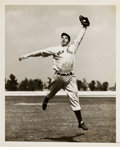Baseball Collectibles:Photos, Circa 1936 Joe DiMaggio by William Jacobellis Original NewsPhotograph, PSA/DNA Type 1....