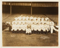 Baseball Collectibles:Photos, 1932 New York Yankees World Champions Original Team Photograph,PSA/DNA Type 1....