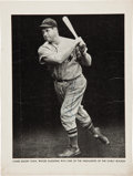 Baseball Collectibles:Others, Circa 1938 Jimmie Foxx Signed Baseball Magazine Premium Photograph, PSA/DNA Mint 9. ...