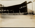 Baseball Collectibles:Photos, 1917 New York Yankees Original News Photograph, PSA/DNA Type 1. ...
