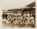 Baseball Collectibles:Photos, 1918 Boston Red Sox Team Photograph, PSA/DNA Type 4....