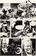 Original Comic Art:Panel Pages, Jorge Zaffino Winter World #3 Story Page 9 Original Art (Eclipse, 1988)....