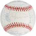 Autographs:Baseballs, 1995 Los Angeles Dodgers Team Signed Baseball (29 Signatures). ...