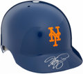 Autographs:Others, Mike Piazza New York Mets Signed Full Sized Batting Helmet. ...
