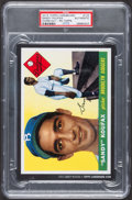 "Baseball Cards:Singles (1970-Now), Signed 2015 Topps Cardboard Icon 5"" x 7"" Sandy Koufax - 1955Topps...."