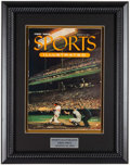Baseball Collectibles:Publications, 1954 First Sports Illustrated Magazine Display. ...