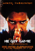 "Movie Posters:Sports, He Got Game & Other Lot (Touchstone, 1998). One Sheets (2) (27"" X 40"" & 27"" X 41""). DS. Sports.. ... (Total: 2 Items)"