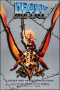 "Movie Posters:Animation, Heavy Metal (Columbia, R-1996). One Sheet (26.75"" X 39.75"").Animation.. ..."
