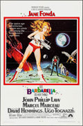 "Movie Posters:Science Fiction, Barbarella (Paramount, 1968). One Sheet (27"" X 41"") & LobbyCards (2) (11"" x 14""). Science Fiction.. ... (Total: 3 Items)"
