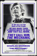 "Movie Posters:Action, The Mechanic & Other Lot (United Artists, 1972). One Sheets (2)(27"" X 41""). Action.. ... (Total: 2 Items)"