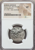 Ancients:Roman Provincial , Ancients: SYRIA. Antioch. Autonomous (47/6-14/3 BC). ARtetradrachm. NGC VF....
