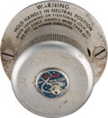 Explorers:Space Exploration, NASA / Marotta Regulator Valve, Model RV23BZ. ...