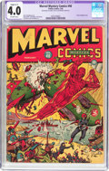 Golden Age (1938-1955):Superhero, Marvel Mystery Comics #40 (Timely, 1943) CGC Apparent VG 4.0 Slight (C-1) Off-white pages....