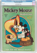 Platinum Age (1897-1937):Miscellaneous, Mickey Mouse Magazine #6 (K. K. Publications/Western PublishingCo., 1936) CGC FN 6.0 Off-white to white pages....