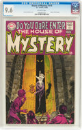 Silver Age (1956-1969):Horror, House of Mystery #174 (DC, 1968) CGC NM+ 9.6 Off-white pages....