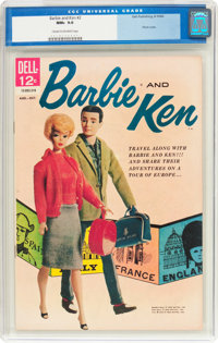 Barbie and Ken #2 (Dell, 1962) CGC NM+ 9.6 Cream to off-white pages