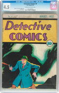Platinum Age (1897-1937):Miscellaneous, Detective Comics #6 (DC, 1937) CGC VG+ 4.5 Cream to off-white pages....