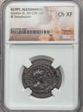 Ancients:Roman Provincial , Ancients: EGYPT. Alexandria. Gordian III (AD 238-244). BItetradrachm. NGC Choice XF....