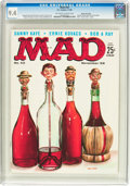 Magazines:Mad, MAD #42 Gaines File Pedigree (EC, 1958) CGC NM 9.4 Off-white to white pages....
