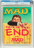 Magazines:Mad, MAD #46 Gaines File Pedigree (EC, 1959) CGC NM 9.4 White pages....