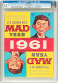 Magazines:Mad, MAD #61 Pacific Coast Pedigree (EC, 1961) CGC NM- 9.2 Off-white to white pages....