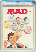 Magazines:Mad, MAD #122 Gaines File Pedigree (EC, 1968) CGC NM+ 9.6 White pages....