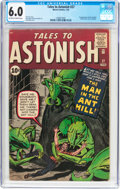 Silver Age (1956-1969):Superhero, Tales to Astonish #27 (Marvel, 1962) CGC FN 6.0 Off-white to whitepages....